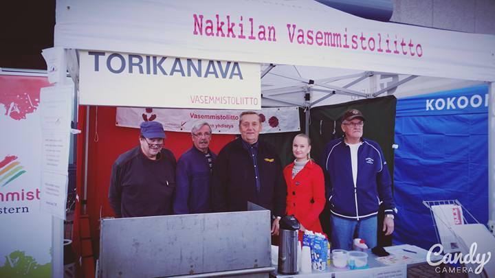 Nahkiaismarkkinat 2015! Pentti Ranta, Jorma Kuusisto, Mikko Lind, Sini Myllykoski ja Markku Ahosmäki